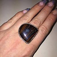 Джеспилит тигровое железо кольцо с камнем джеспилит 20 размер. Кольцо с джеспилитом Индия!, фото 1