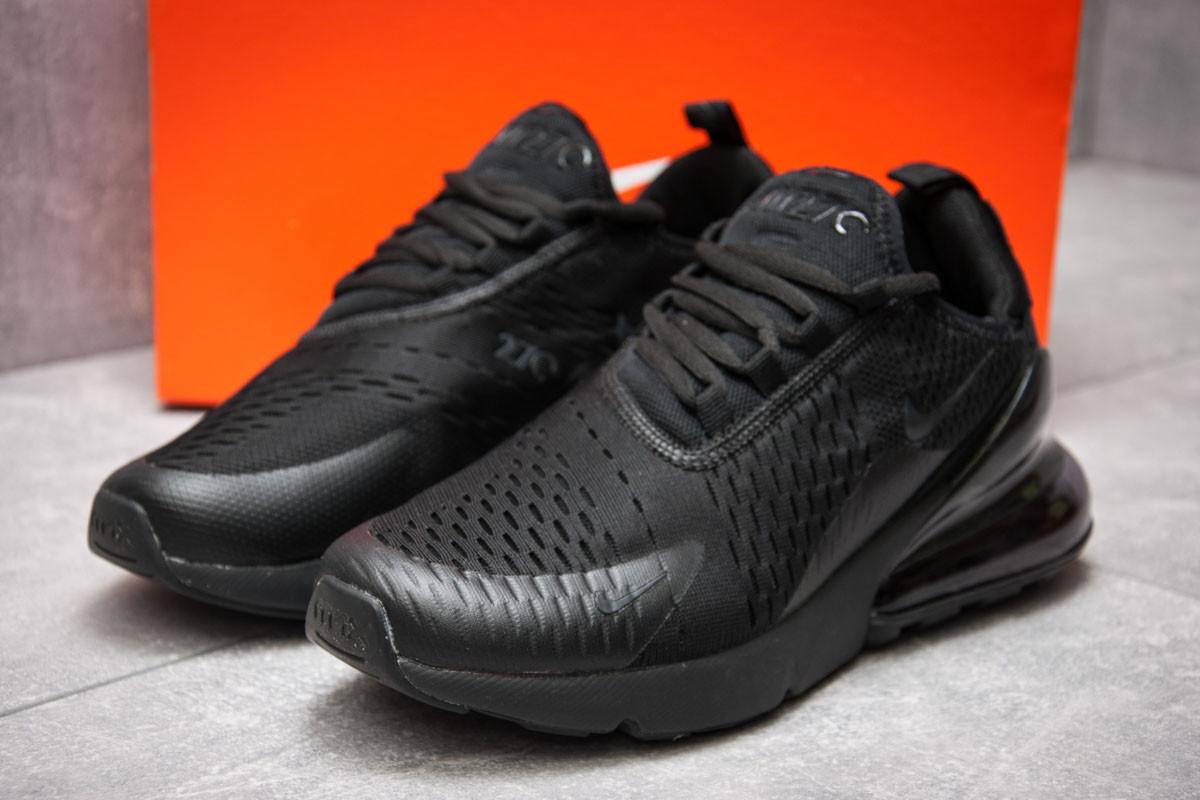 Кроссовки мужские  в стиле Nike Air 270, черные (12779) [  40 (последняя пара)  ]