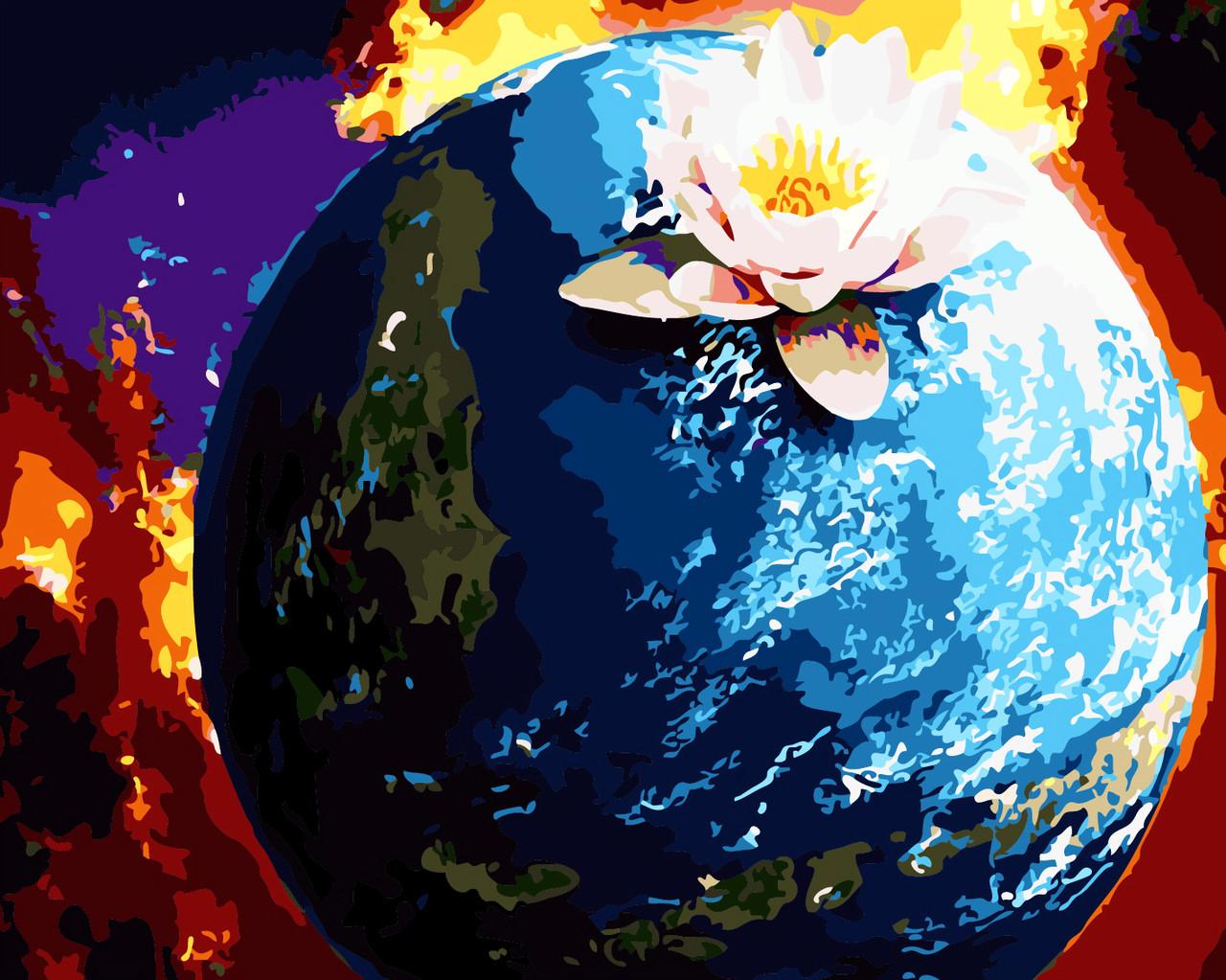 Художественный творческий набор, картина по номерам Планета, 40x50 см, «Art Story» (AS0309)