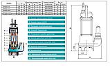 Дренажно-фекальный насос Shimge WVSD 75 A2 F, фото 4