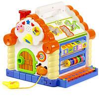 Музыкальный развивающий сортер Теремок 9196 Joy Toy