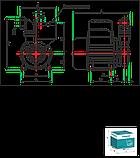 Вихревой поверхностный насос Shimge 1WZB-65T, фото 3