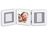 Рамочка Baby Art Double Print Frame White & Grey