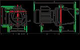 Поверхностный центробежный насос Shimge SGJW 55, фото 3