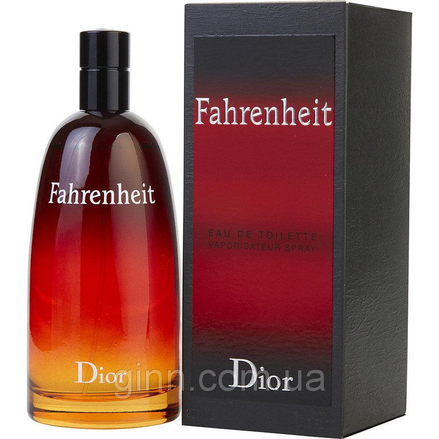 Мужская парфюмированная вода Christian Dior Fahrenheit