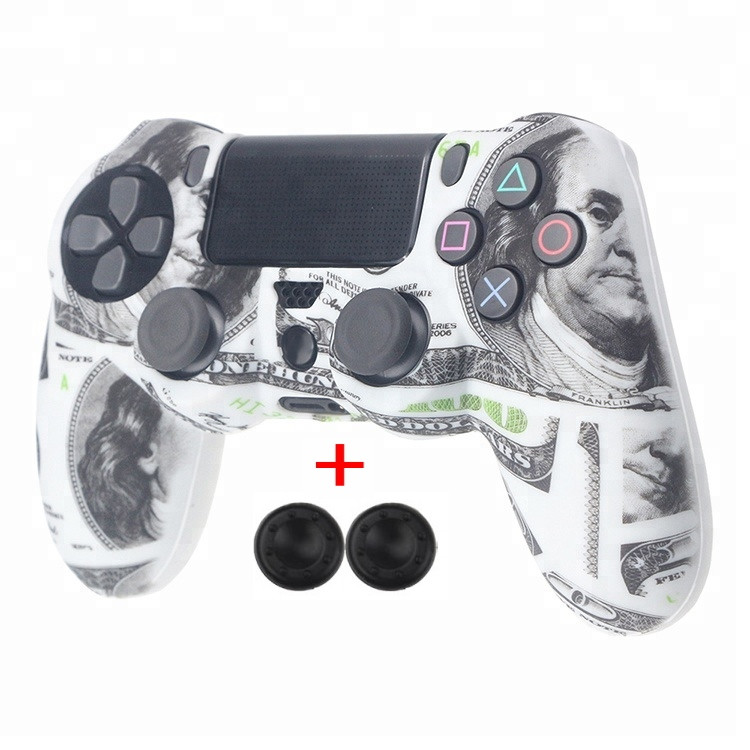 Захисний чохол на джойстик геймпад DualShock 4 для Sony PlayStation 4 PS4 PRO Slim (Долар) Контролер