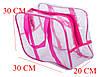 Компактная сумка в роддом/для игрушек ORGANIZE (розовый), фото 2