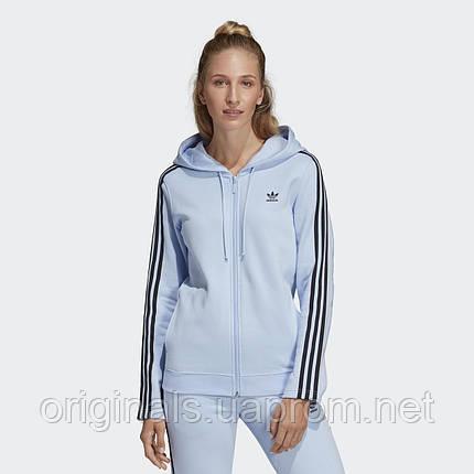 Женская толстовка Adidas Zip DU9861  , фото 2