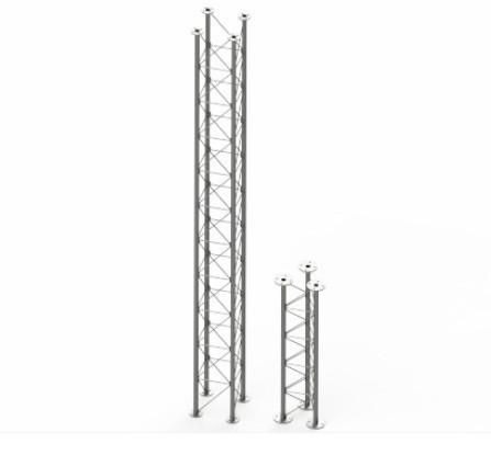Фермы для дымоходов (Диаметр дымовой трубы: 180/240) длинна секции 2м