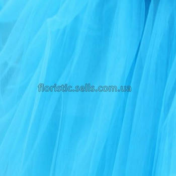 Фатин 100/75 см, блакитний.