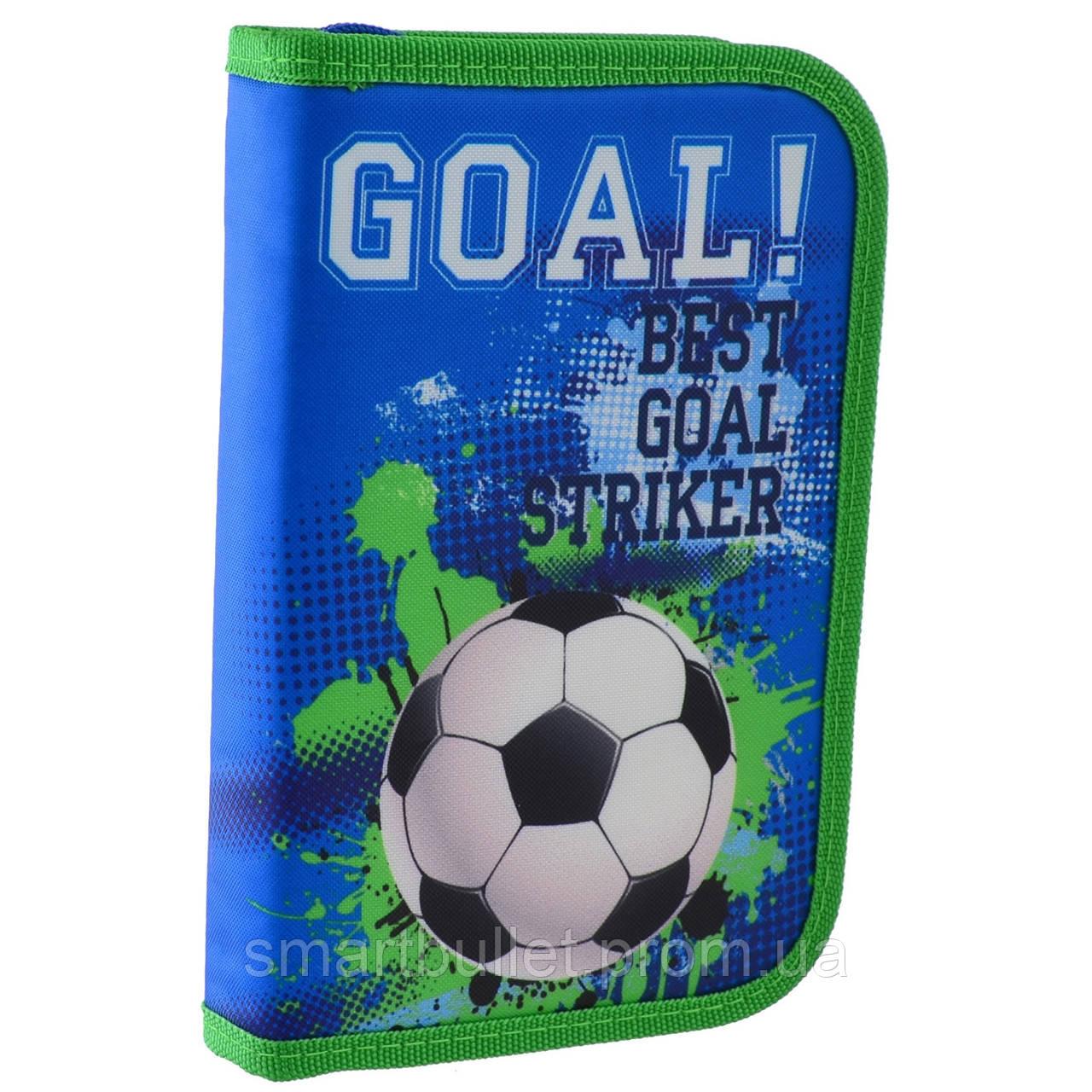 "Пенал твердий одинарний HP-02 ""Goal"" 532063 Smart"