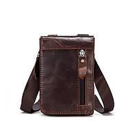 Мужская кожаная мини сумочка Marrant, фото 1