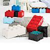 Одноточечный оранжевый контейнер для хранения Lego 40011753, фото 3