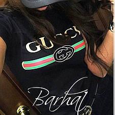 Женская футболка с принтом Гуччи , фото 2