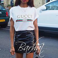 Женская футболка с принтом Гуччи , фото 3