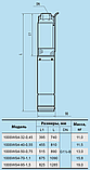 Скважинный насос Насосы+Оборудование 100 SWS 4-32-0.45 + муфта, фото 3