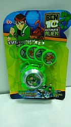 Часы Бен 10 с пусковым механизмом свет и звук - Omnitron, Ben Ten, Ben 10, Omnitrix