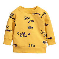 Модный желтый реглан для детей Aosta Betty  , распродажа склада: 4-5T,5-6T