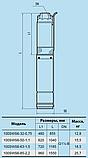 Скважинный насос Насосы+Оборудование 100 SWS 6-32-0.75 + муфта, фото 3