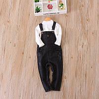 Чёрный джинсовый комбинезон  , Final Sale -40%, размеры: 78см,86см