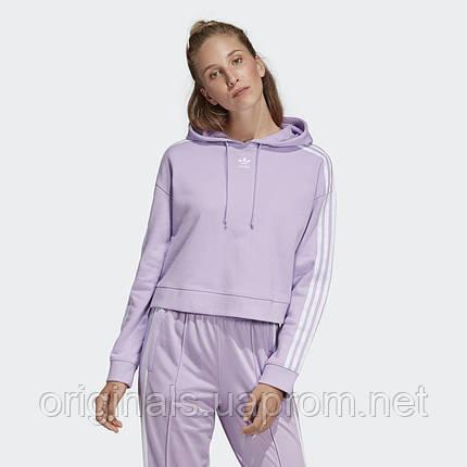 Укороченное худи женское Adidas Cropped DX2158  , фото 2