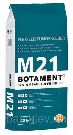 BOTAMENT M21 Р (25 кг) білий клей для плитки