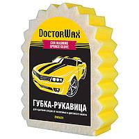 Губка-рукавица для удаления налета и насекомых Doctor Wax DW8639