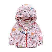 Весенняя куртка Meanbear с котоновой подкладкой : 120см,130см,140см, фото 1