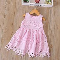 Летнее кружевное платье для детей: 100см,110см,120см,130см,140см