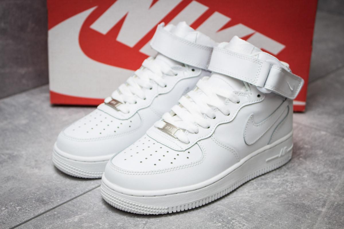Кроссовки женские  в стиле Nike  Air Force 07, белые (14373) [  40 (последняя пара)  ]