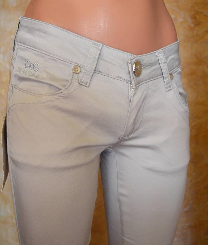 Женские джинсы D&G1381 (копия), фото 2
