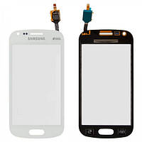 Сенсор (тачскрин) для Samsung S7582 Galaxy Trend Plus Duos белый Оригинал