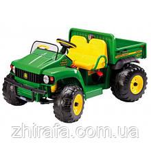 Електромобіль вантажівка позашляховик Peg-Perego John Deere Gator HPX з причепом 12 V