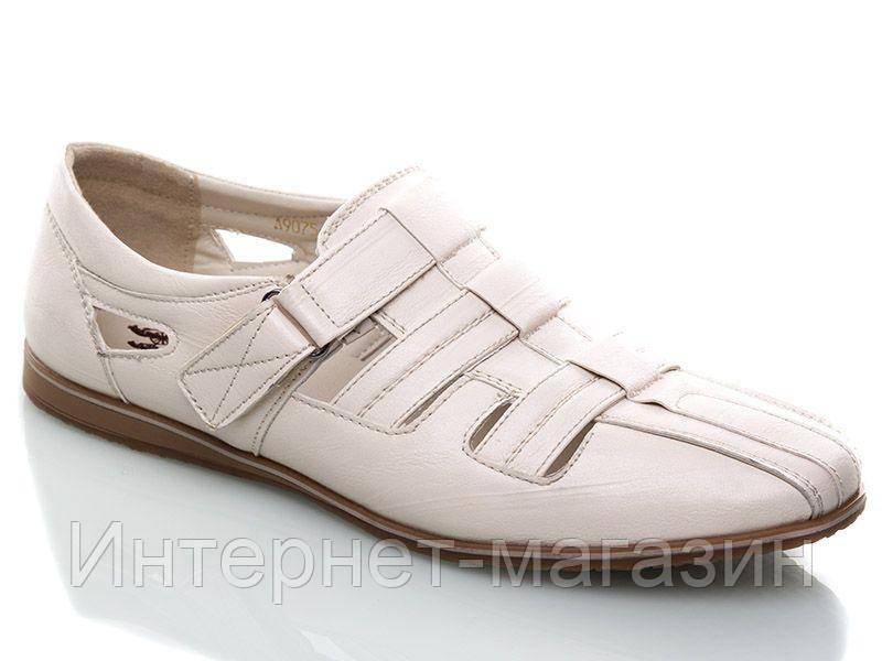 Туфли мужские Adrenij A9075 (40-45р) код 8025