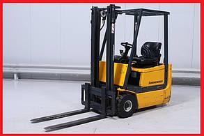 Електронавантажувач Jungheinrich EFGDH12.5, 1250 кг, 2001р., 2200 м/год, візок!