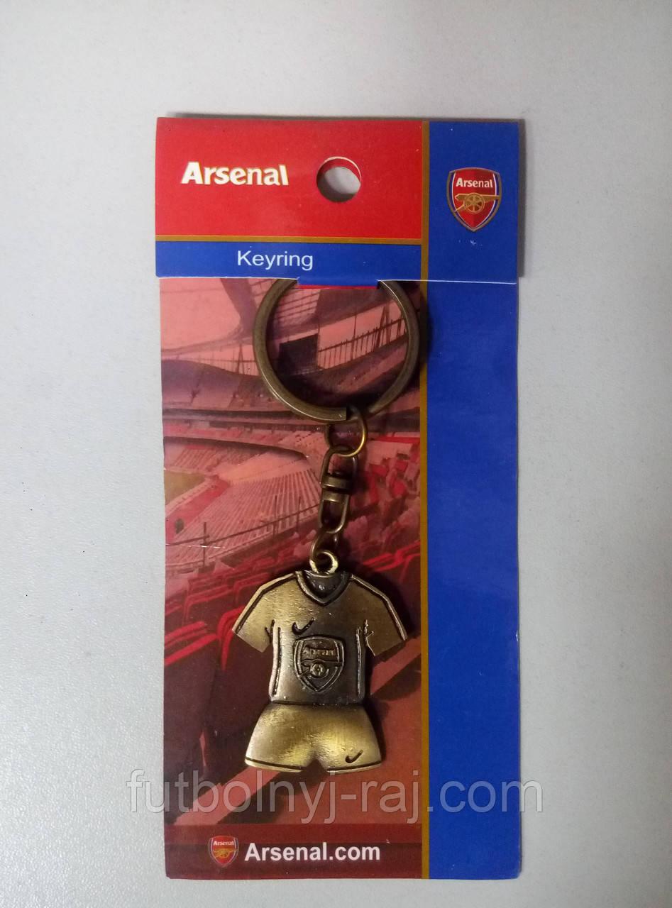 Брелок металевий FC Арсенал