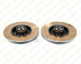 Тормозной диск задний с подшипником 260mm на Renault Megane III 2009->2016 — Renault (Оригинал) - 432001539R