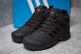 Зимние кроссовки  в стиле Adidas Climaproof, черные (30001) [  38 (последняя пара)  ]