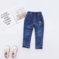 Детские стильные джинсы Lovely Rabbit : 100см,110см,120см,130см,140см,150см