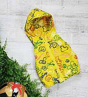 Жилетка код 102 для мальчика,размер 92-110 (2.5-5 лет), цвет - желтый микки