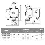 Циркуляционный насос Насосы+Оборудование BPS 25-8S-180 Solar, фото 3