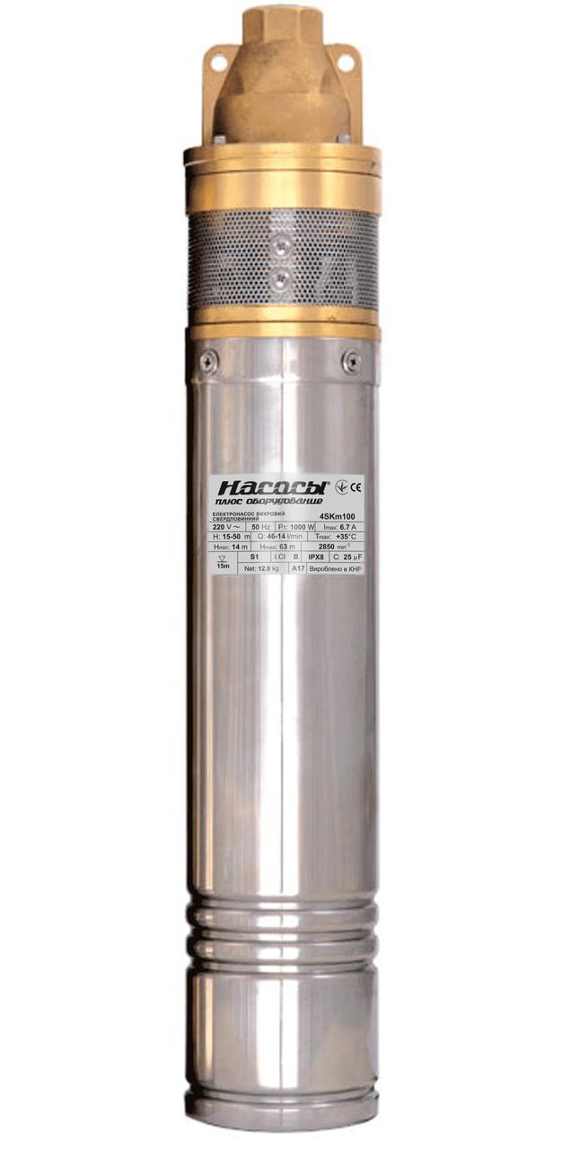 Скважинный насос Насосы+Оборудование 4SKm 100