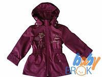 "Куртка дівчача тм""BabyBrok"" кол.""Monaliza"", рост. 104-134 (1шт) КД-20012"