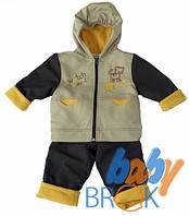 """Комбінезон хлопчачий куртка+штани тм""""BabyBrok"""" кол.""""Monaliza"""", рост. 74-86  (1шт) КШХ-20012"""