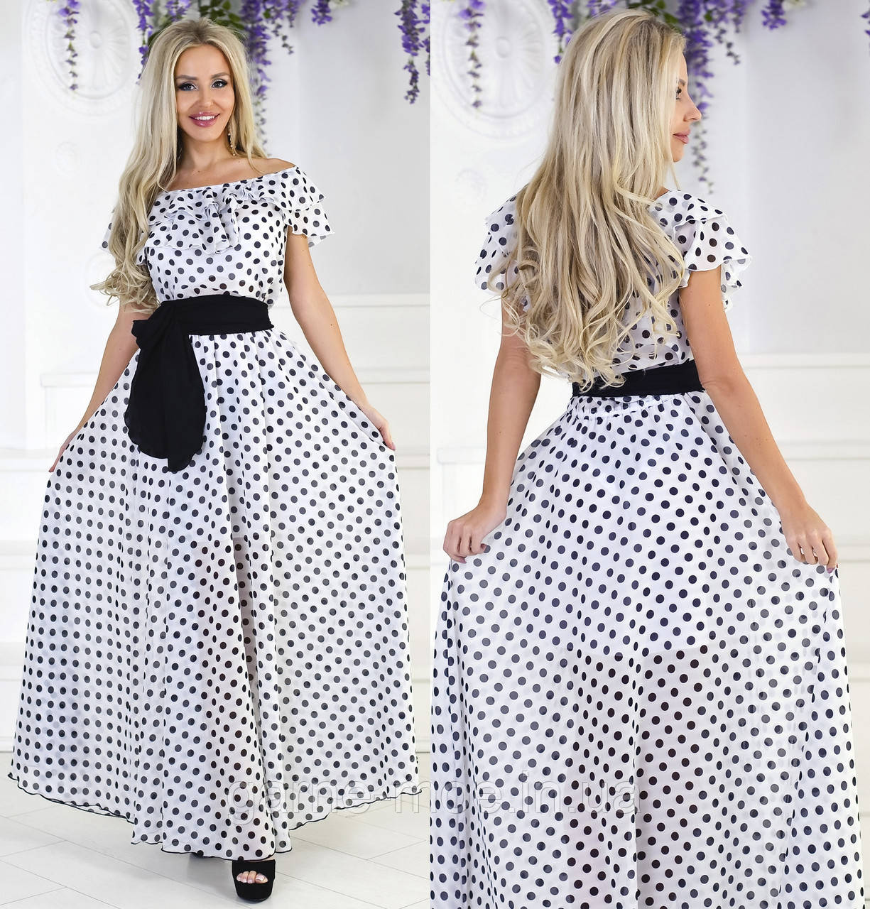 fab6e913768 КП21279 Женское платье в пол
