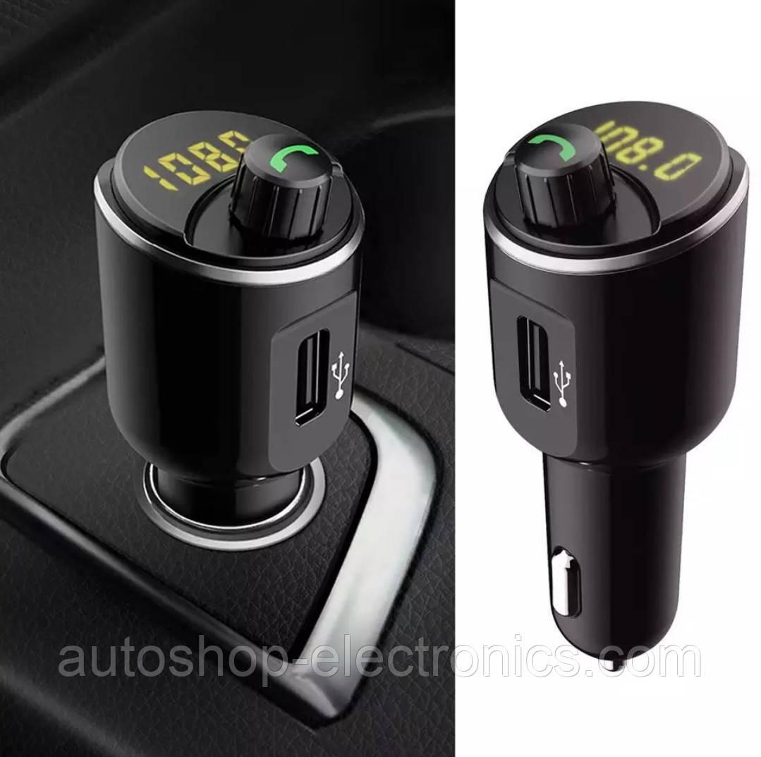 Модулятор / Громкая связь / Вольтметр / Зарядное USB (FM, Bluetooth, Hands Free, mp3 player USB)