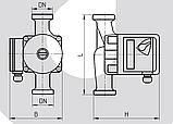 Циркуляционный насос Rudes UPS 25-6-180, фото 4