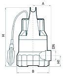 Дренажный насос Rudes DRP 5-550, фото 4