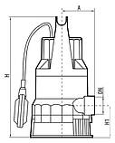 Дренажный насос Rudes DRP 30-550, фото 4