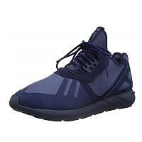 Кроссовки мужские adidas Tubular AQ7445 (синие, повседневные, комбинированный верх (замша/текстиль), адидас)